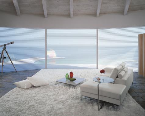 Cortina Silhouette® - Hunter Douglas -  Dormitório (quarto)