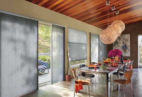 Cortina Duette® Vertiglide - Hunter Douglas -  Sala de jantar